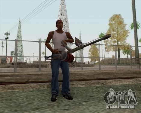 Lança-chamas novo para GTA San Andreas segunda tela
