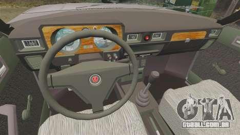 Gaz-31029 para GTA 4 vista de volta