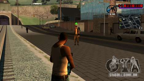 C-HUD Project Capture 6 para GTA San Andreas segunda tela