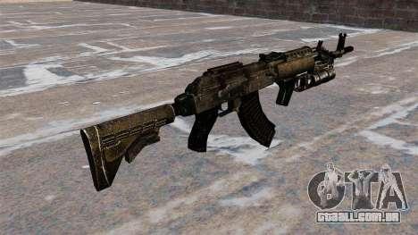 AK-47 GP-25 para GTA 4 segundo screenshot