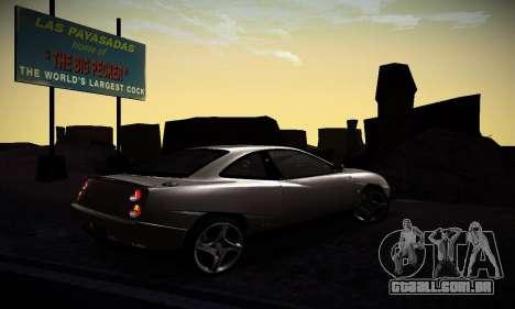 Fiat Coupe para GTA San Andreas vista direita
