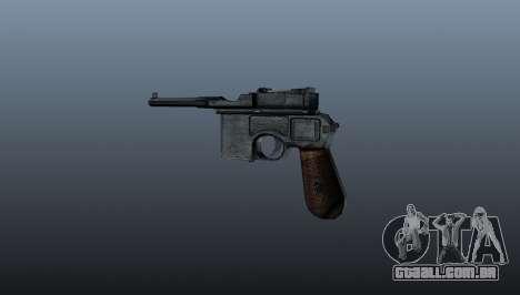 Carregamento automático pistola Mauser C96 para GTA 4 segundo screenshot