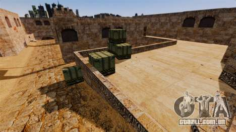 Localização de Counter-strike De_Dust2 para GTA 4 terceira tela
