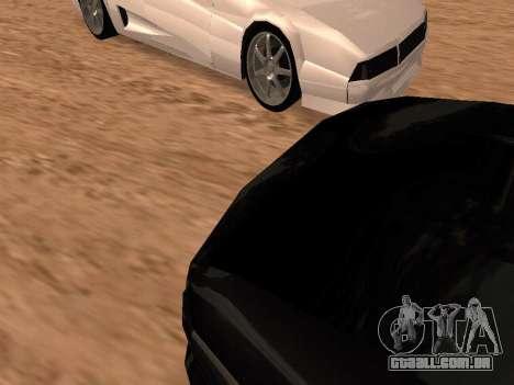 Sheetah Restyle para vista lateral GTA San Andreas