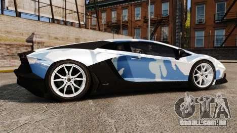 Lamborghini Aventador LP700-4 LE-C 2014 para GTA 4 esquerda vista
