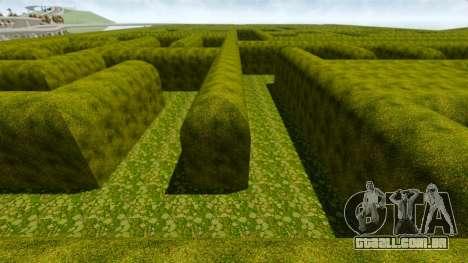 Labirinto para GTA 4 por diante tela