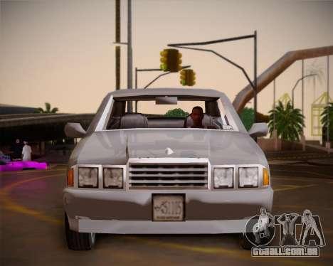 GTA III Kuruma para GTA San Andreas vista interior