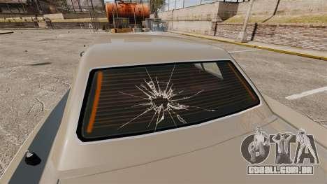 Novos efeitos de vidro para GTA 4