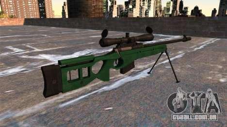 Rifle sniper SV-98 para GTA 4 segundo screenshot