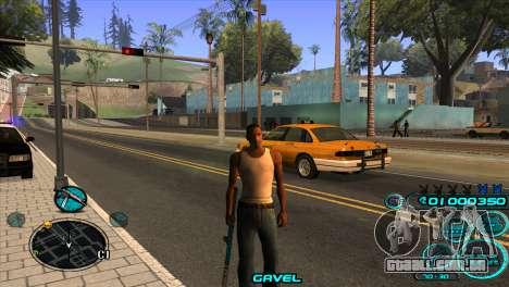 C-HUD Candy Project para GTA San Andreas terceira tela