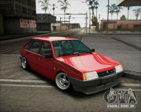 Postura de 2109 VAZ para GTA San Andreas