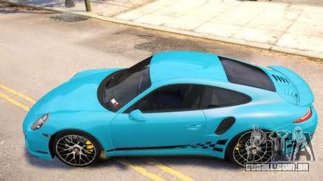 Porsche 911 Turbo 2014 [EPM] para GTA 4 traseira esquerda vista