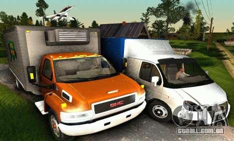 GMC Top Kick C4500 Dryvan House Movers 2008 para GTA San Andreas