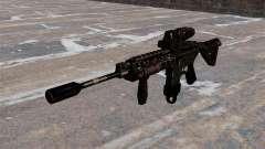Carabina M4 automática híbrido escopo