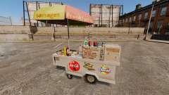 Novas texturas de carrinhos de cachorro-quente para GTA 4