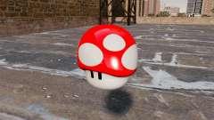 Cogumelo romã Mario