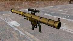 Lançador de granadas de ombro Mk153 SMAW Mod 0