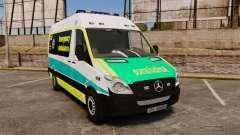 Mercedes-Benz Sprinter Australian Ambulance ELS