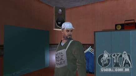 HD pele vagabundo para GTA San Andreas
