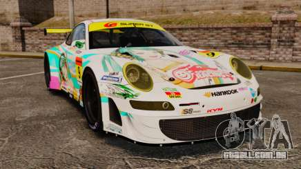 Porsche GT3 RSR 2008 Hatsune Miku para GTA 4