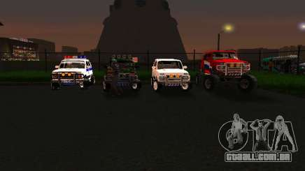 VAZ 212140 polícia para GTA San Andreas