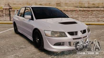 Mitsubitsi Lancer MR Evolution VIII 2004 Stock para GTA 4