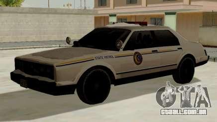 Yanton norte polícia Esperanto de GTA 5 para GTA San Andreas