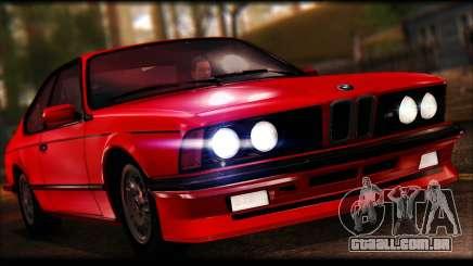 BMW E24 M635 1984 para GTA San Andreas