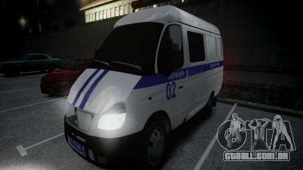 Polícia de gazela 2705 para GTA 4