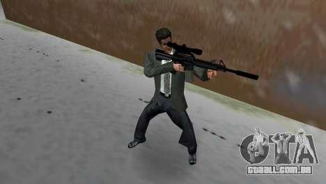 M4 com a arma de Sniper para GTA Vice City