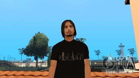 Pele de alta qualidade pessoal para GTA San Andreas