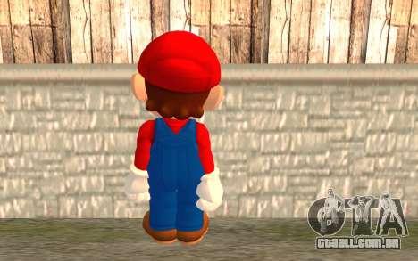 Mario para GTA San Andreas segunda tela