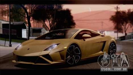 Lamborghini Gallardo LP560-4 Coupe 2013 V1.0 para GTA San Andreas