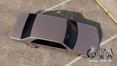 Mercedes-Benz S600 W140 para GTA 4 vista direita