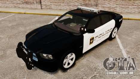 Dodge Charger RT 2012 Police [ELS] para GTA 4 vista lateral