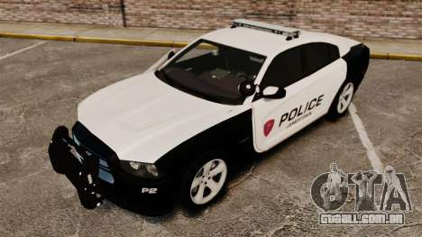 Dodge Charger RT 2012 Police [ELS] para GTA 4 vista superior