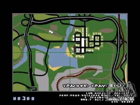 Um mito sobre o pescador para GTA San Andreas sétima tela