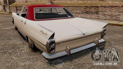 Peyote 1950 v2.0 para GTA 4 traseira esquerda vista