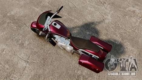 GTA V Bagger para GTA 4 traseira esquerda vista