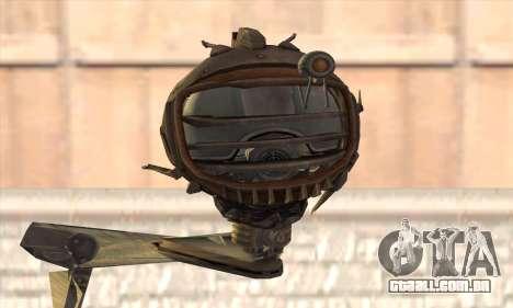Robo Fallout 3 para GTA San Andreas terceira tela