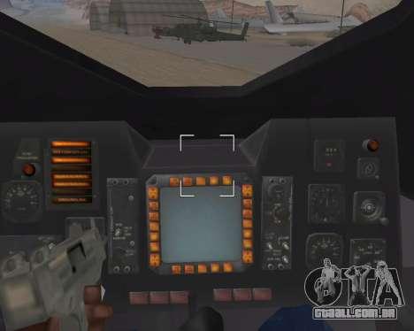 StarGate F-302 para GTA San Andreas vista inferior