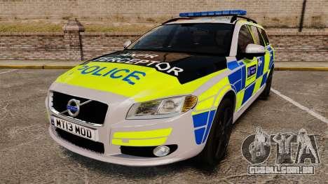 Volvo V70 Metropolitan Police [ELS] para GTA 4