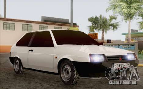 VAZ 2108 táxi para GTA San Andreas