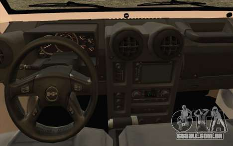 Toyota Fj70 2007 Pick Up para GTA San Andreas vista direita