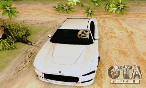 Búfalo de GTA V para GTA San Andreas vista inferior