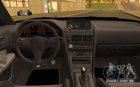 Nissan Skyline R34 Z-Tune para GTA San Andreas vista traseira