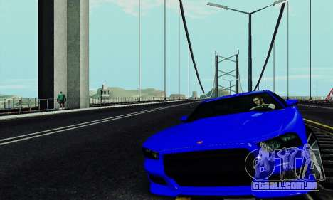 Búfalo de GTA V para GTA San Andreas vista interior