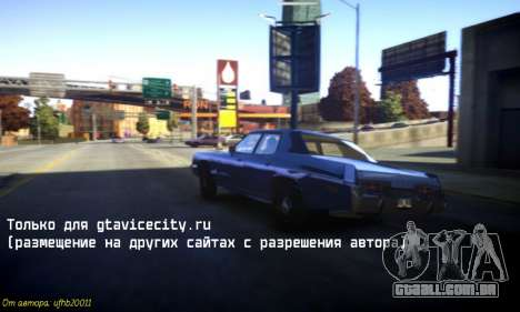 Novos sons de máquinas V 1.0 para GTA 4 terceira tela