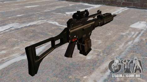 Fuzil de assalto HK G36k para GTA 4 segundo screenshot