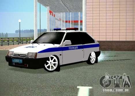 DPS VAZ 2108 para GTA San Andreas
